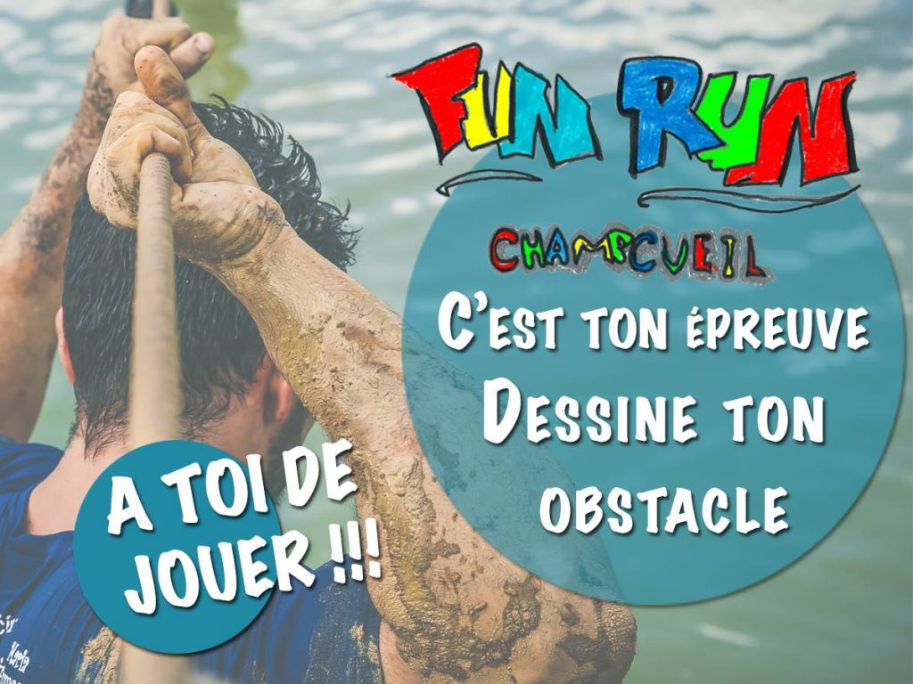 FUN RUN: voici vos obstacles!!!