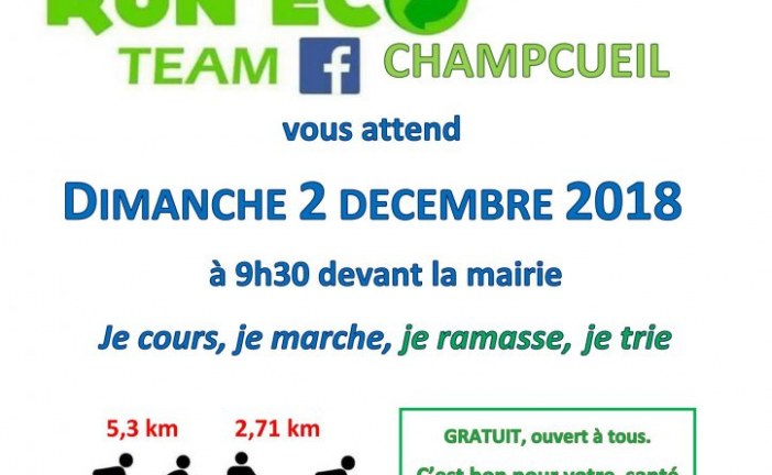 La « Run eco » de Saint-Nico !