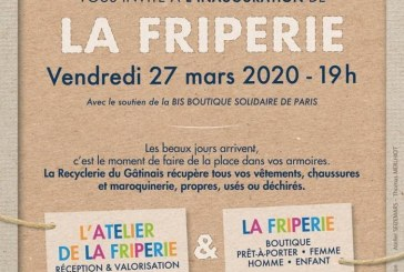 Inauguration d'une friperie