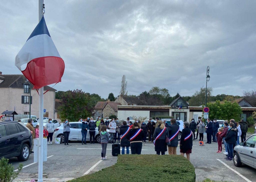 HOMMAGE NATIONAL A SAMUEL PATY